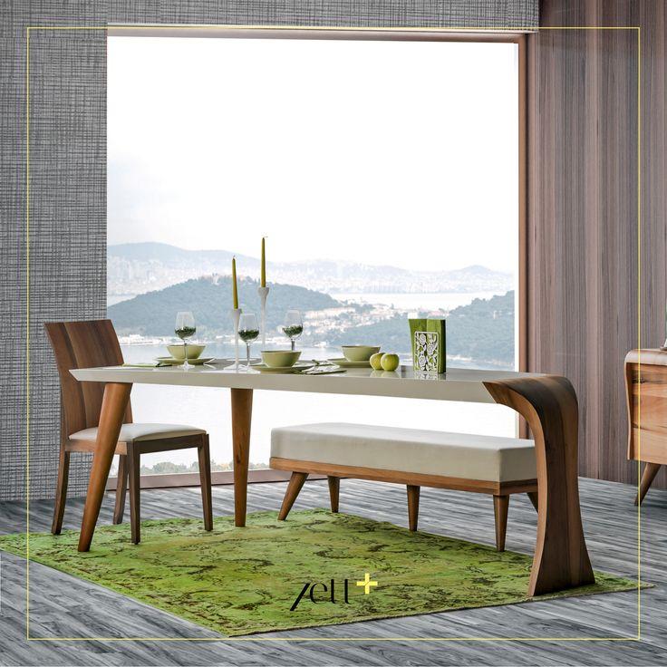 Trio Yemek Odası estetik ve zerafeti bir arada sunuyor. #zettplus #mobilya #furniture #ahşap #wooden #yatakodasi #bedroom #yemekodasi #diningroom #ünite #tvwallunits #yatak #bed #gardrop #wardrobe #masa #table #sandalye #chair #konsol #console #dekor #decor #dekorasyon #decoration #koltuk #armchair #kanepe #sofa #evdekorasyonu #homedecoration #homesweethome #içmimar #icmimar #evim #home #inegöl #bursa #turkey