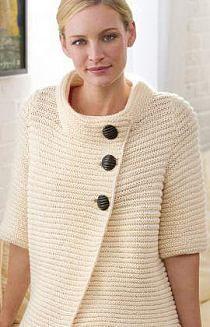 POMYSŁ na ciekawy sweter - ♥ Wzory na drutach i szydełk… na Stylowi.pl