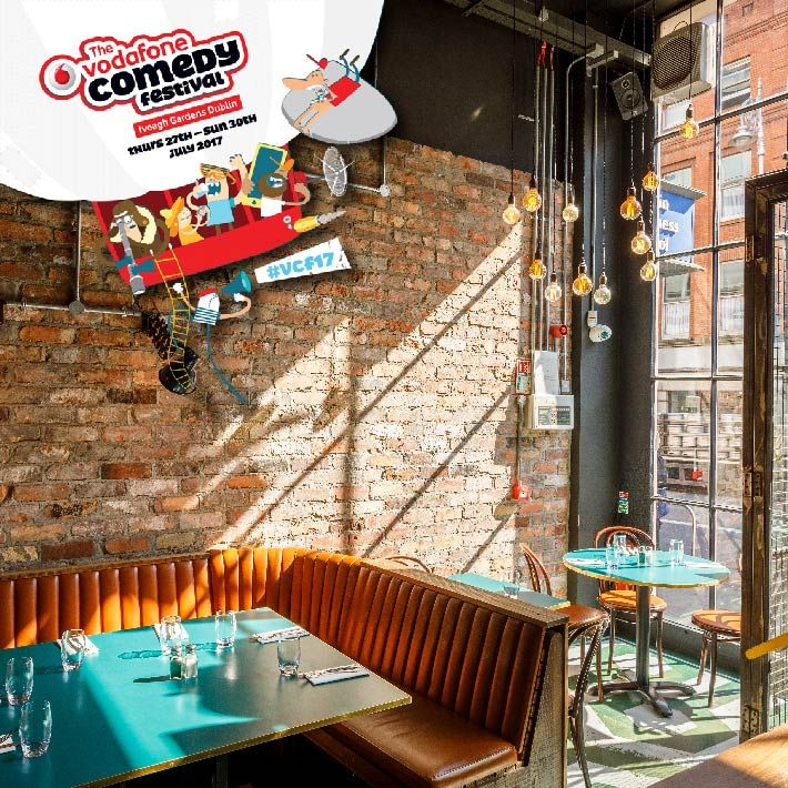 Vodafone Comedy Festival, This week the Iveagh Gardens transform into the funniest place in Ireland., http://www.sanlorenzos.ie