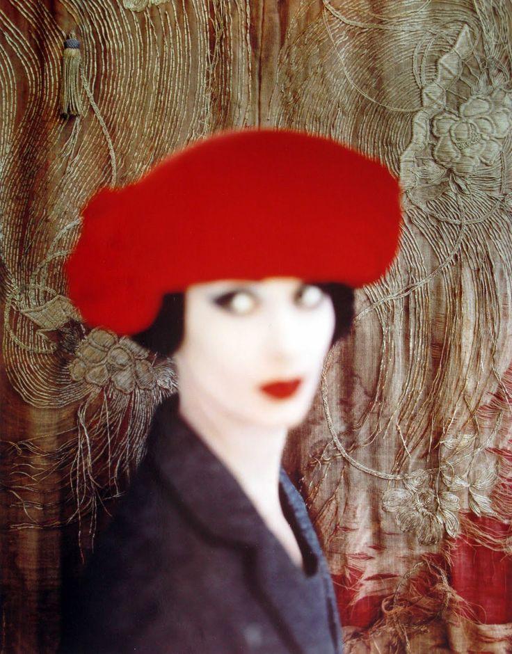 After Kees van Dongen  Vogue, November 1959  Photographer: Norman Parkinson  Model: Adèle Collins  Hat by Otto Lucas