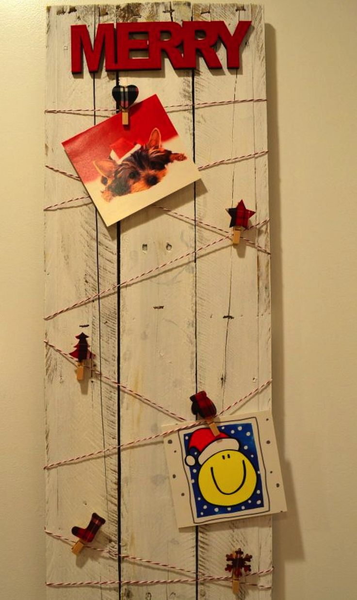 68 best Mail/Card Holder images on Pinterest | Christmas cards ...