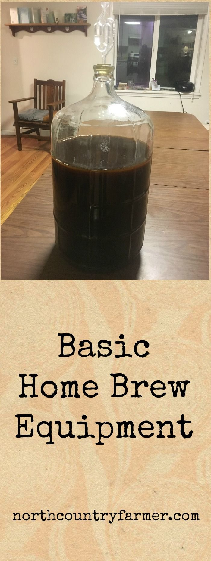 Making your own beer or wine at home is not very difficult. With this basic brewing equipment you can easily make for your first 5 gallon batch.