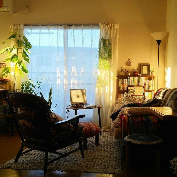 #room #apartment #smallspaces #lifestyle #livingroom #smallspacestyle #home #interior #インテリア #お部屋 #陽射し #賃貸 #賃貸インテリア #アパート #暮らし #ウニコ #unico