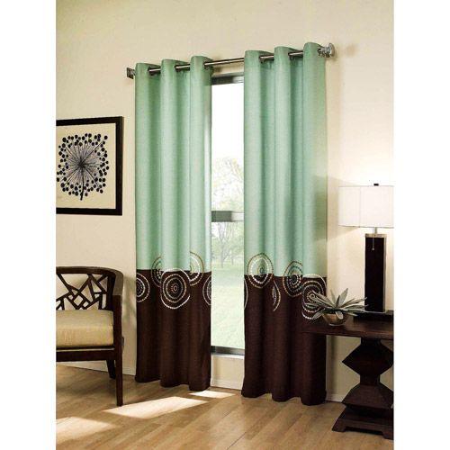 Bedroom Curtains Walmart: Electra Grommet Panel (http://www.walmart.com/catalog