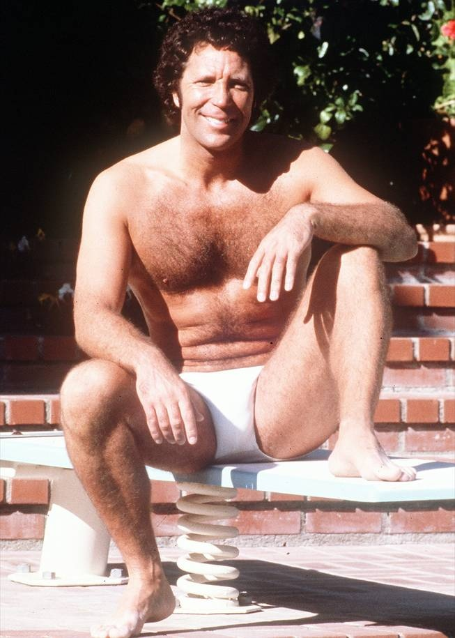 """Tom Jones.  In the song """"What's New, Pussy Cat?"""" he's actually talking to his chest hair, which he nicknamed """"Pussy Cat""""."""