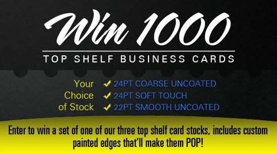 @PremiumCards 1,000 Top Shelf Business Card Giveaway – ENTER NOW https://www.facebook.com/pages/PremiumCardsnet/106024396155213: Premiumcard 1000