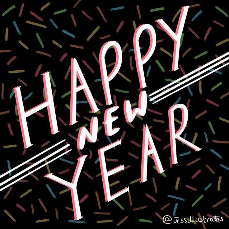 Happy new year  @jessillustrates