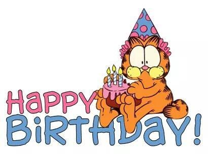 Image result for happy birthday garfield