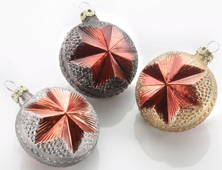 Thüringer Glasdesign TGS-Christbaumschmuck Sterntaler, Made in Germany, 3tlg., »Vulkan« Jetzt bestellen unter: https://moebel.ladendirekt.de/weihnachten/christbaumschmuck/?uid=3d98e668-435d-555d-97fd-c96c6c72bc25&utm_source=pinterest&utm_medium=pin&utm_campaign=boards #weihnachten #deko #christbaumschmuck