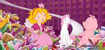 My 3yr old <3 LOVES <3 Princess Lillifee but we can not find anything for her, even the DVD's, over here in the USA.  So sad  =(