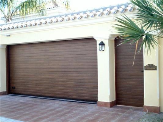 Mejores 13 im genes de ideas frente casa en pinterest - Puertas para garages ...