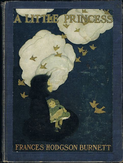 1905 edition, illustrated by Ethel Franklin Betts, of A LITTLE PRINCESS by Frances Hodgson Burnett. Free activity/template + fun, unique teaching ideas at https://litwits.com/a-little-princess/