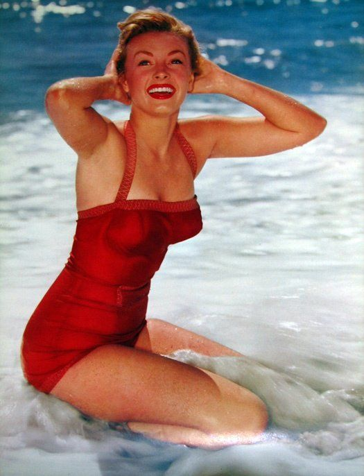 Vintage Red Bathing Suit
