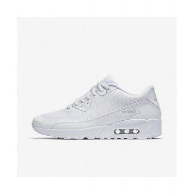 the latest 6b825 79436 Authentic Nike Air Max 90 Ultra 2.0 Essential White White Pure Platinum  White Running Shoes Uk