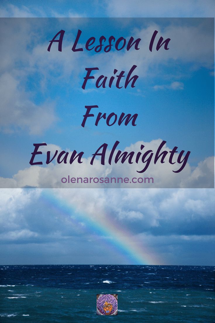 "Have you ever thought about  a movie like 'Evan Almighty"" giving a valuable faith lesson to a child.  Well let me tell you about my son's experience. Check it out on olenarosanne.com in the Blog Post titled,""Faith Lesson From Evan Almighty"" #faith, #parenting, #specialneeds, #children, #family, #movies, #EvanAlmighty,  #Netfli"