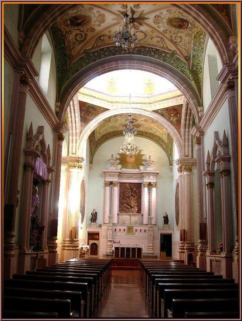 Interior, Chapel -- Templo de San Diego, Aguascalientes
