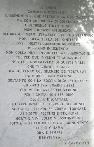 Epigrafe Calamandrei