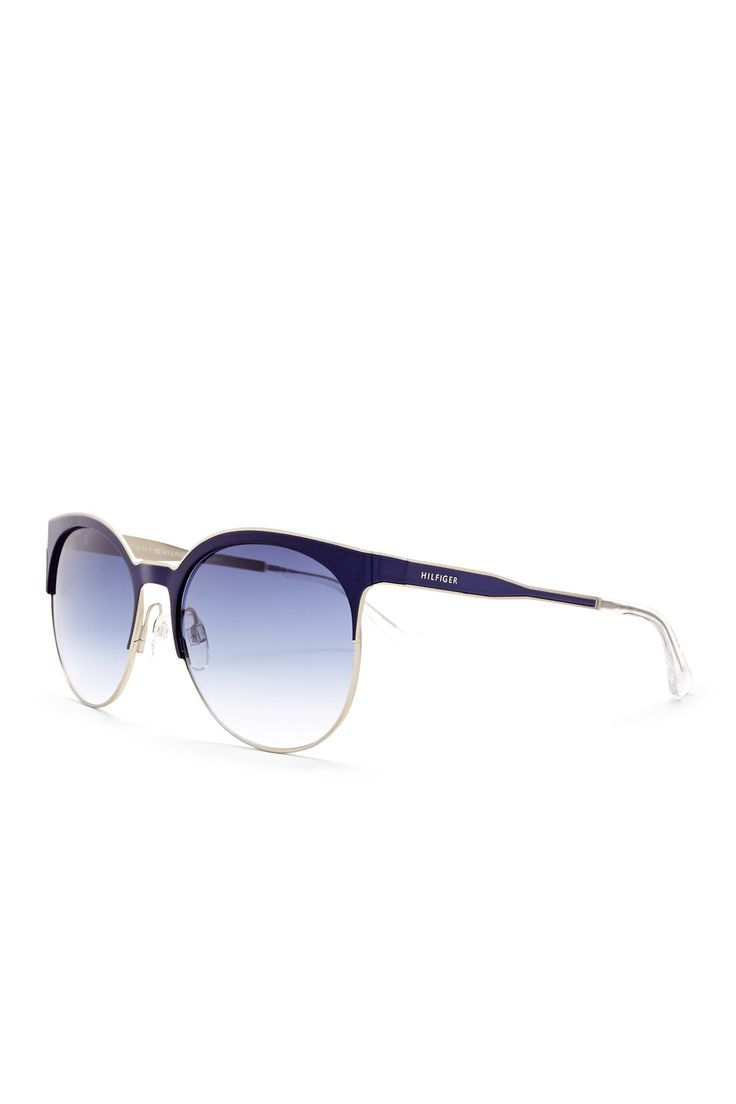 Women's Retro Sunglasses by Tommy Hilfiger on @nordstrom_rack