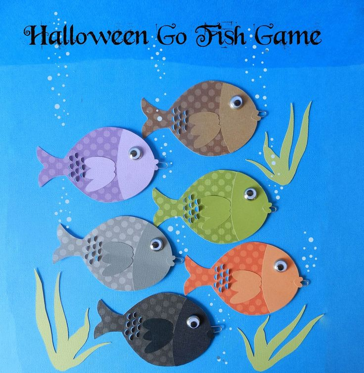 itu0027s written on the wall halloween go fish gamefun for classroom parties home church block parties or school carnivals