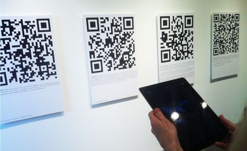 9 best qr2d codes images on pinterest qr codes coding and artform gallery tattoos erichuk the looking glass project features 58 quick response qr code art pieces from 48 artists worldwide fandeluxe Choice Image