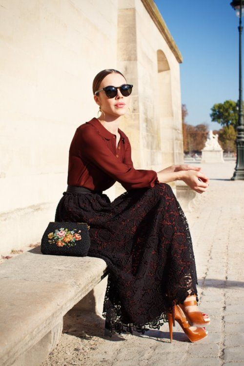 Ulyana Sergeenko: Feminine And Quirky Street Style