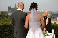 Wedding are usually at ceremonial halls, Chateaus or Castles.