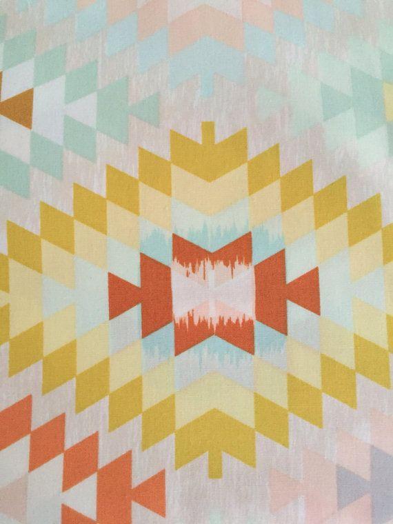 Southwestern Baby Bedding Fitted Crib Sheet Serape Crib