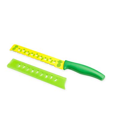 Take a look at this Green & Yellow Pineapple Knife by Kuhn Rikon on #zulily today!