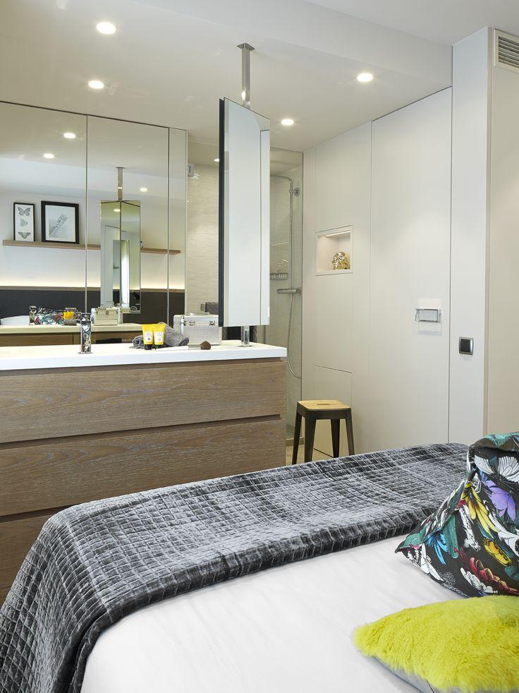 Molins interiors arquitectura interior interiorismo - Habitacion juvenil barcelona ...