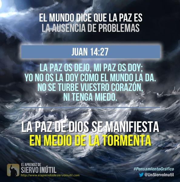 #PensamientoGráfico - La paz de Dios