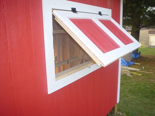 Ventilation For Chickens : Coop window ventilation backyard chickens