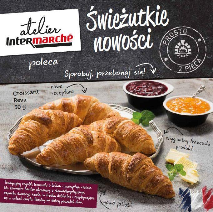 Pachnący, francuski croissant prosto z pieca! #intermarche #croissant