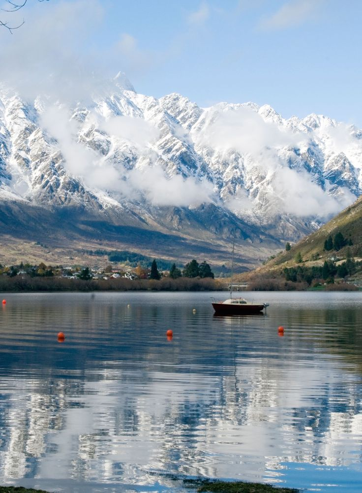 The Remarkables, South Island, New Zealand