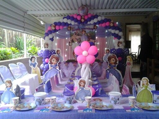 Sofia the 1st by Little People's Party Hire