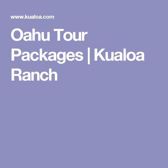 Oahu Tour Packages | Kualoa Ranch