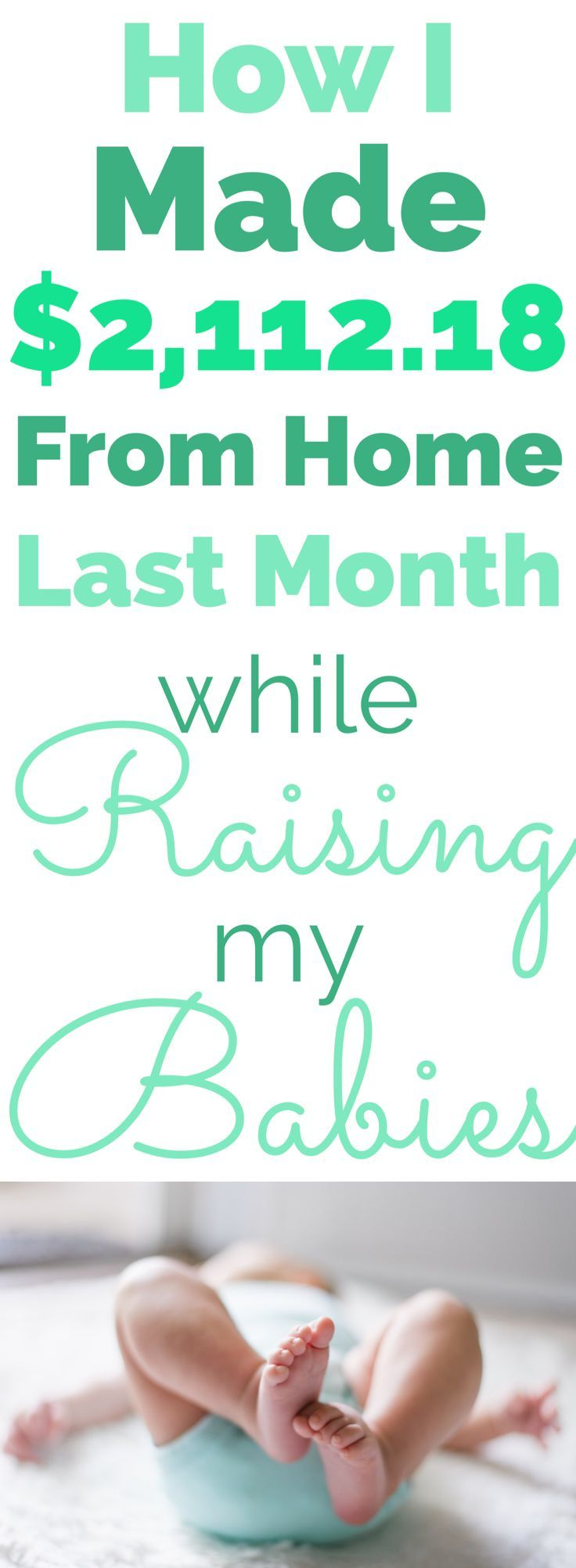 Working from home and having the flexibility to take care of my kids is a dream. Each month I share exactly how I make money from home to help other moms do the same.