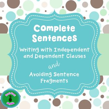 This lesson on sentence fragment includes an editable PowerPoint lesson that gives a review of independent and dependent clauses and explains what sentence fragments are. Multiple examples of different types of sentence fragments are shown with several practice opportunities.Download includes:1.