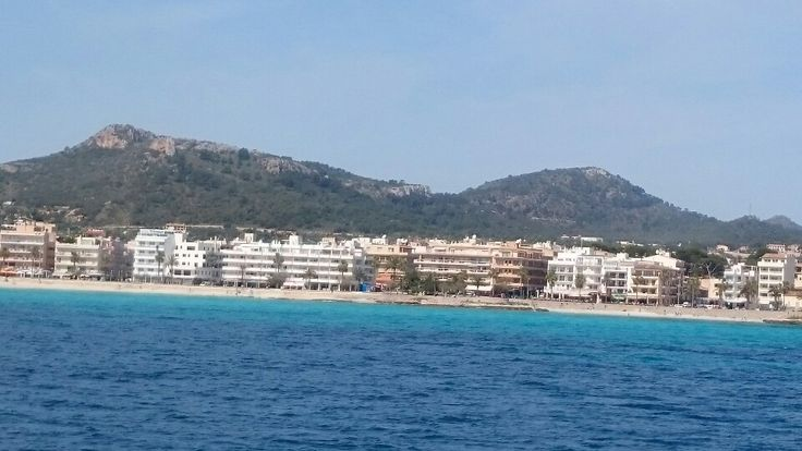 Cala Millor from the sea