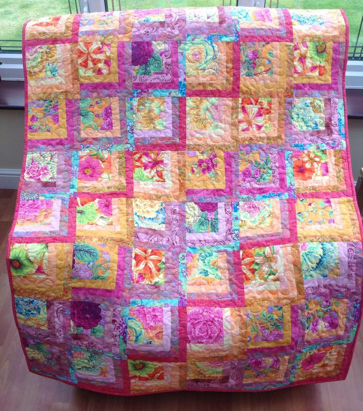 Flowery Quilt