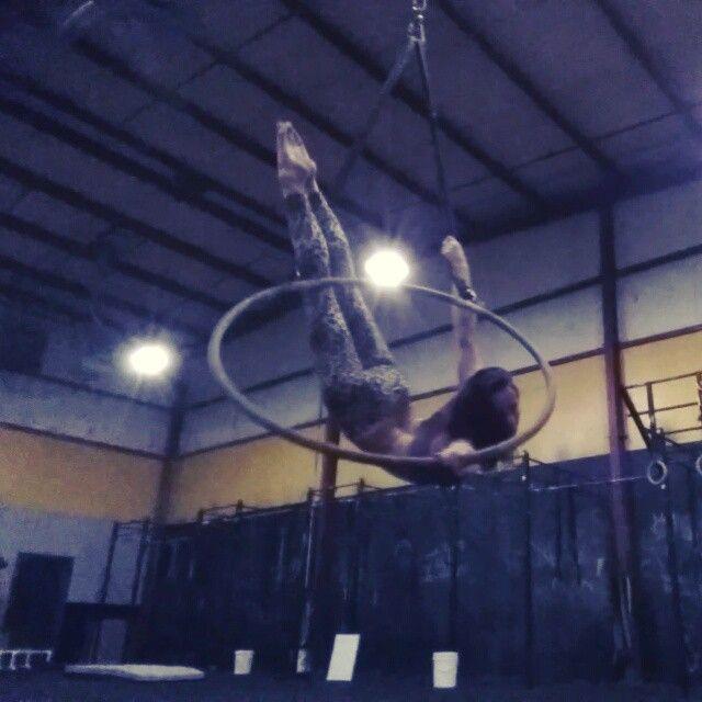 Top bar mermaid sequence. lyra aerialist aerialhoop circus aerialhooplove aerial ericablue hoop cirqueartistcirque usaerial circusinspiration circuscircus