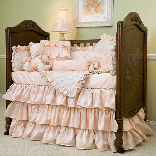 Nicole Crib Bedding from PoshTots  If only it wasn't $1900.00!  Love this bedding!!!