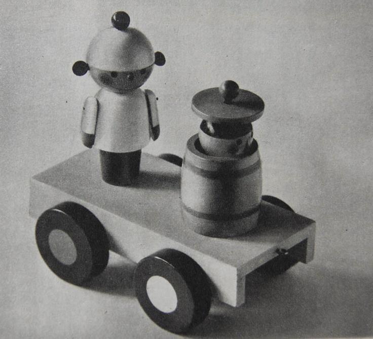 Wood toy