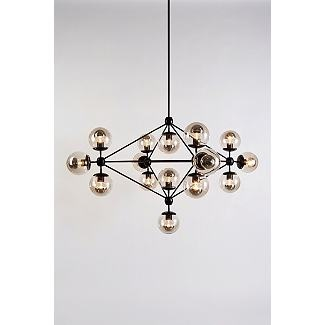Scott's favorite light at the moment...MODO CHANDELIER DESIGNED BY JASON MILLER FOR ROLL AND HILL