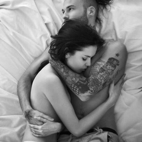 my husband makes me feel so loved n safe in his arms. this pix reminded me of him