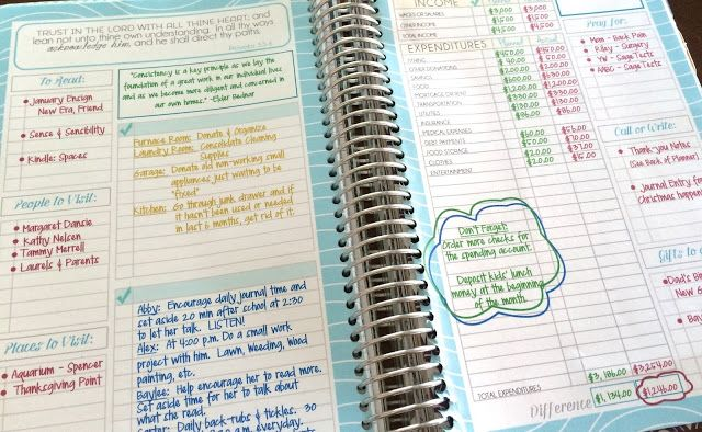 Planner Overview for the Mormon Mom Planner and the Mom-on-the-go planner