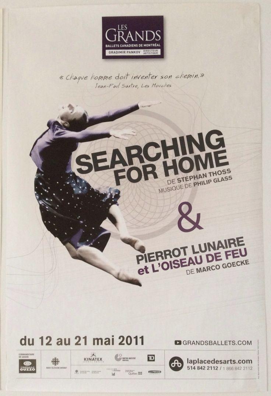 Searching for Home - Stephan Thoss Pierrot Lunaire & l'Oiseau de Feu - Marco Goecke Mai 2011