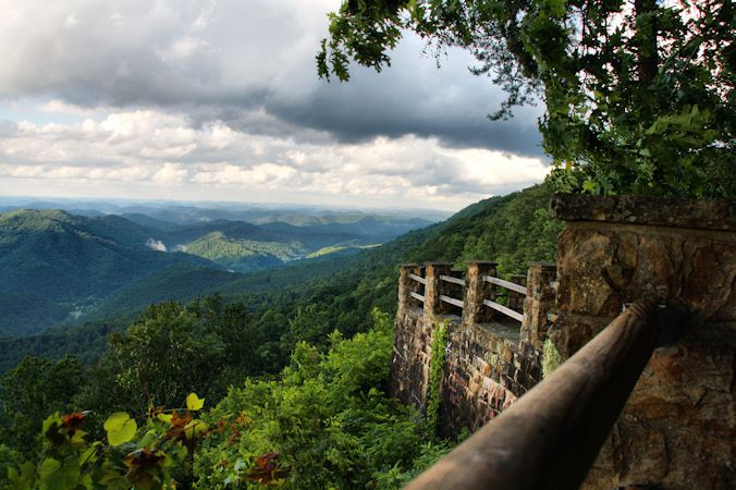 Creech Overlook - Harlan County, Kentucky - Photo by Brandon Goins