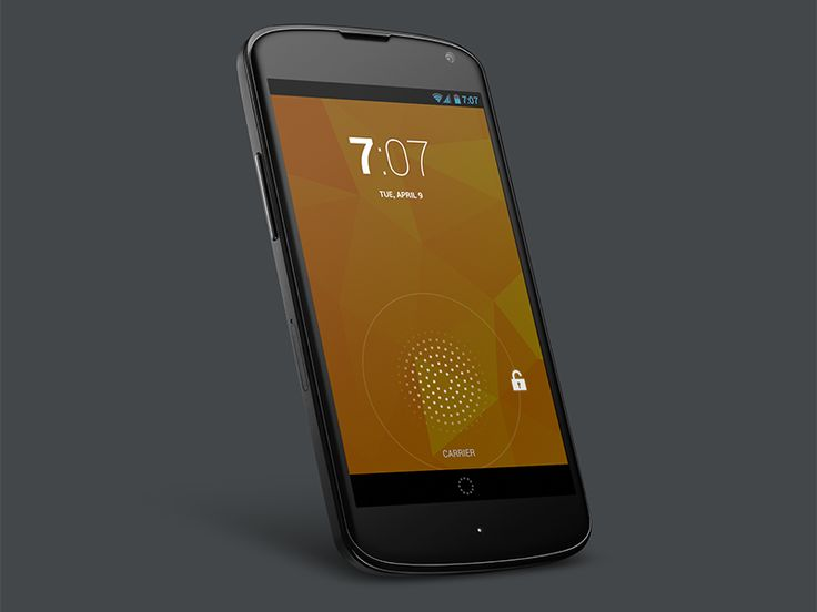 Get your design freebie -  Google Nexus 4 #android #mockup #psd #freebies