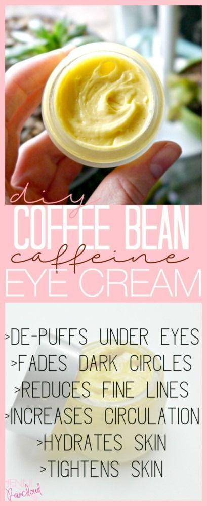 DIY oder KAUFEN Kaffeebohne Koffein Augencreme – Stuff to Try