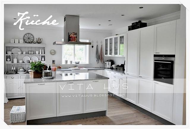moderner landhausstil - weiß | küche | pinterest | moderner, Kuchen
